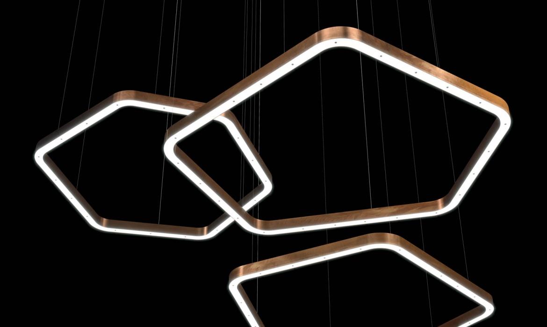 Light Ring Horizontal Polygonal