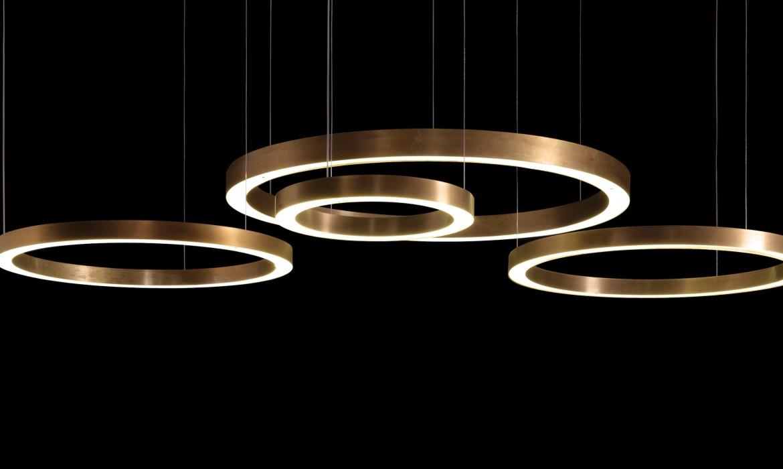 Light Ring Horizontal Pendelleuchte von Henge bei M3