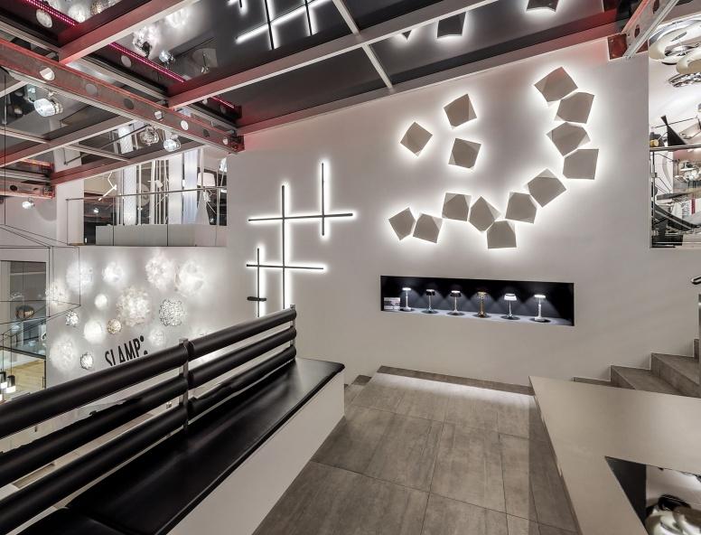 Showroom Franzosenhausweg Linz / Fotocredit Wolf Mayer